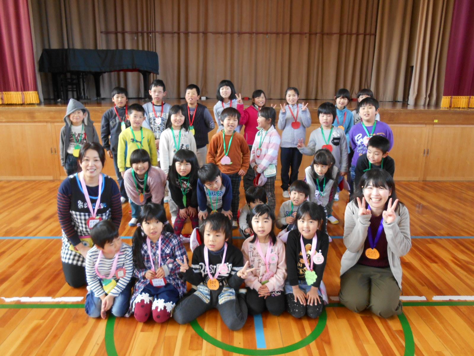 月田小)新1年生体験入学 - 真庭市公式ホームページ