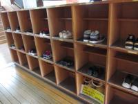 1年生靴箱