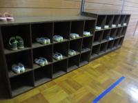 音楽室靴箱2年