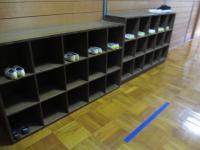 音楽室靴箱3年