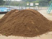 真砂土盛り