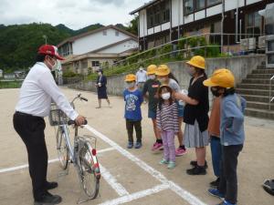自転車の点検