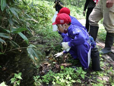 津黒の森探検