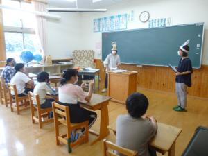 内田先生と安慶名先生