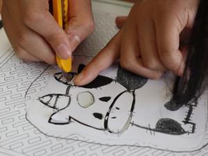 中和小 蒜山の伝統「シリゲ」を通して学ぶ